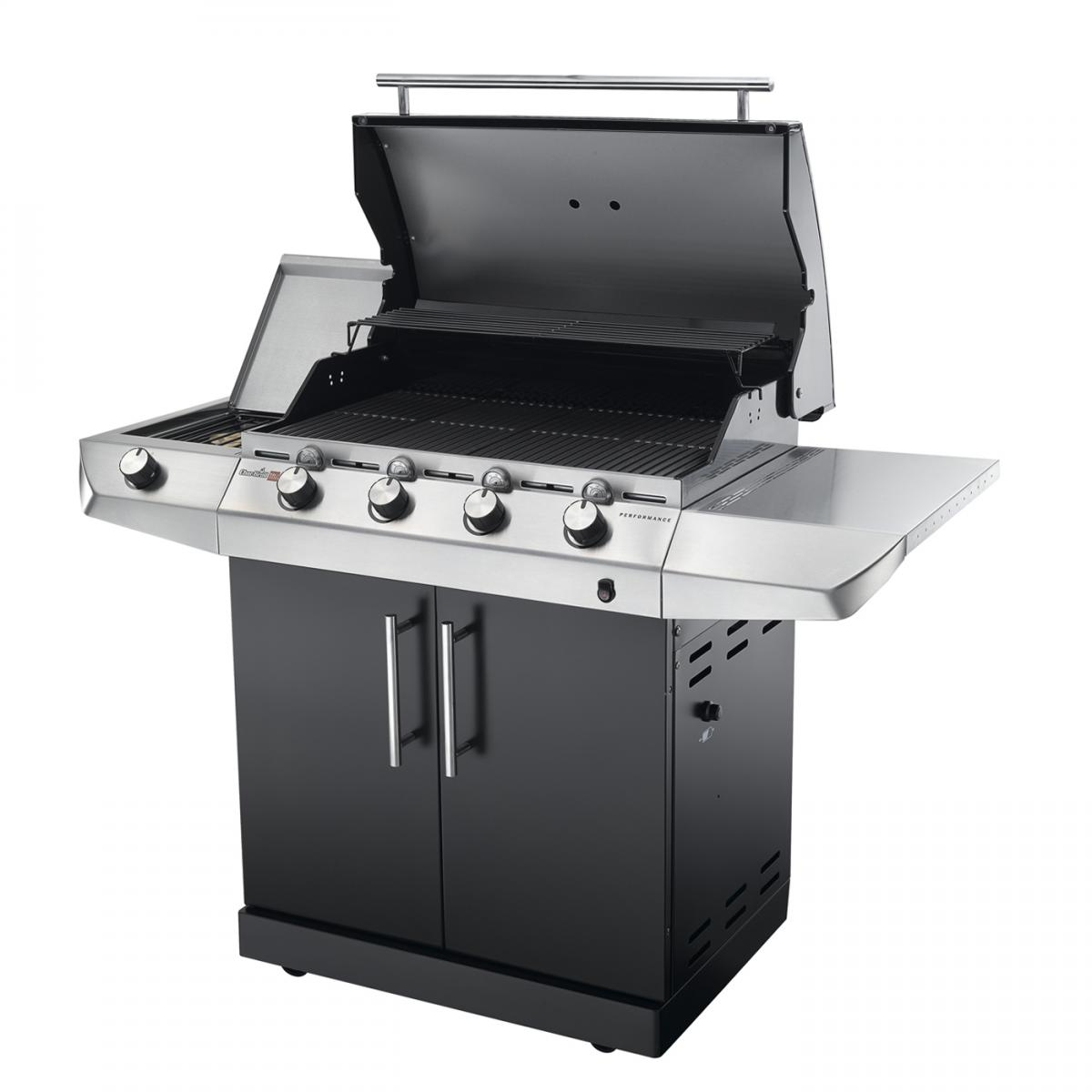 char broil performance t 47g black series bbq cover and. Black Bedroom Furniture Sets. Home Design Ideas
