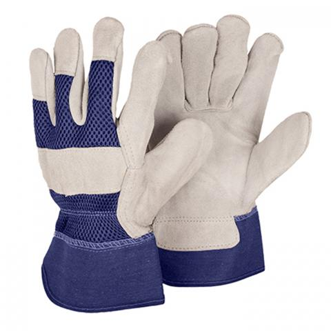 Clifton Nurseries briers mens rigger gloves twin pack blue