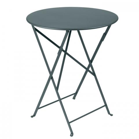 Clifton Nurseries Fermob Bistro Table D60 - Storm Grey