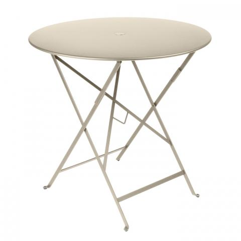 Clifton Nurseries Fermob Bistro Table D77 - Nutmeg