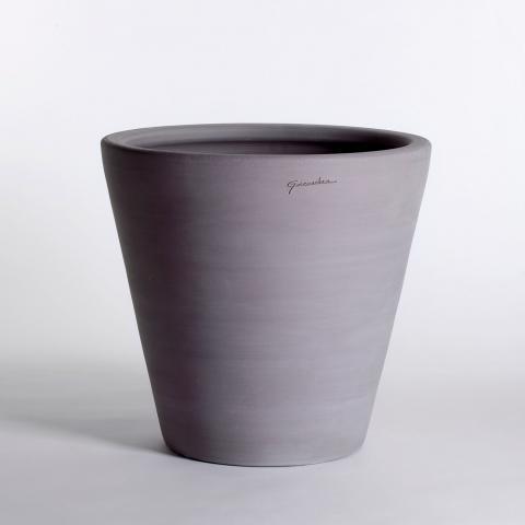Clifton Nurseries Goicoechea Contemporary Vase 60cm In Grey