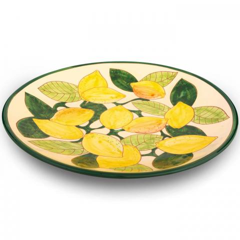Clifton Nurseries Verano Spanish Ceramics Lemons – Large Platter