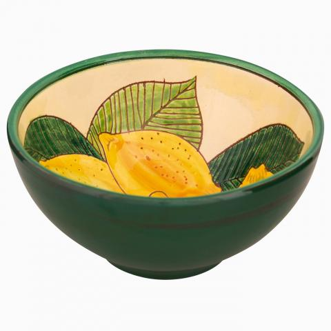 Clifton Nurseries Verano Spanish Ceramics Lemons – Appetiser Bowl
