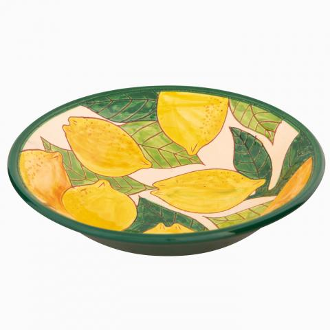 Clifton Nurseries Verano Spanish Ceramics Lemons – Pasta Bowl
