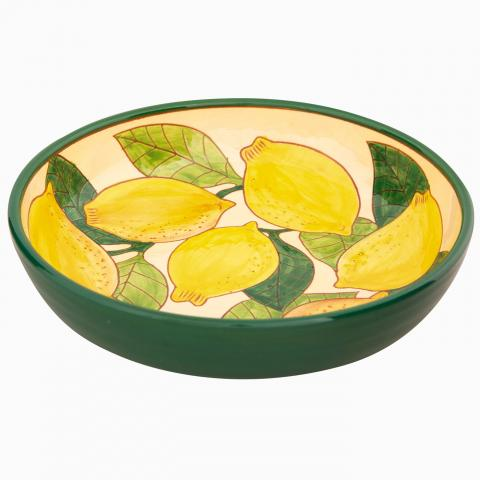 Clifton Nurseries Verano Spanish Ceramics Lemons – Salad Bowl