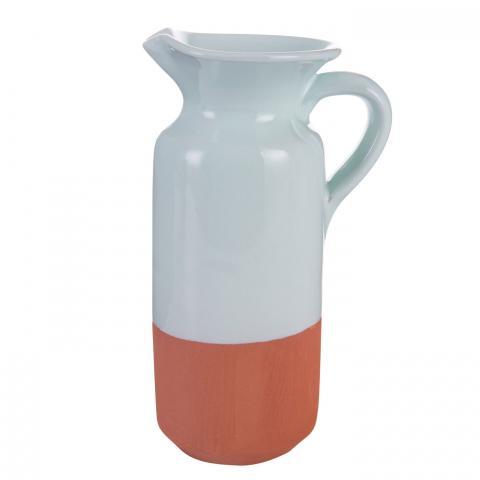 Clifton Nurseries Verano Spanish Ceramics Rustic Pastel - Rustic Bottle Green