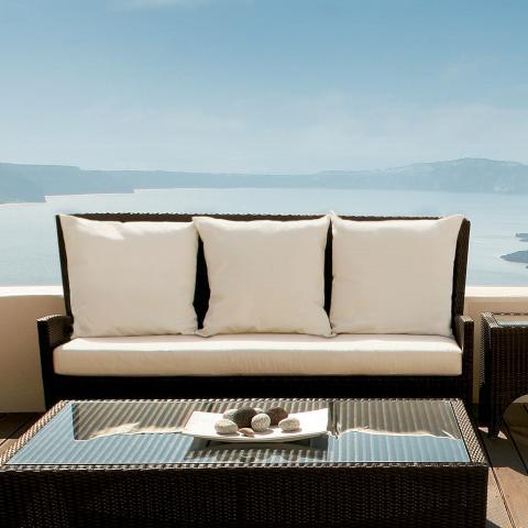 Clifton Nurseries barlow tyrie savannah three seater sofa outdoor