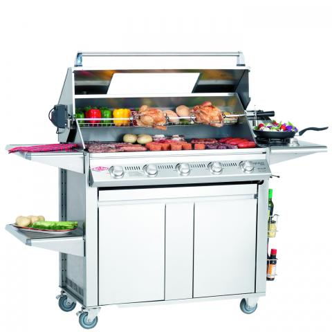 Clifton Nurseries Signature Plus 5 Burner Cabinet Trolley