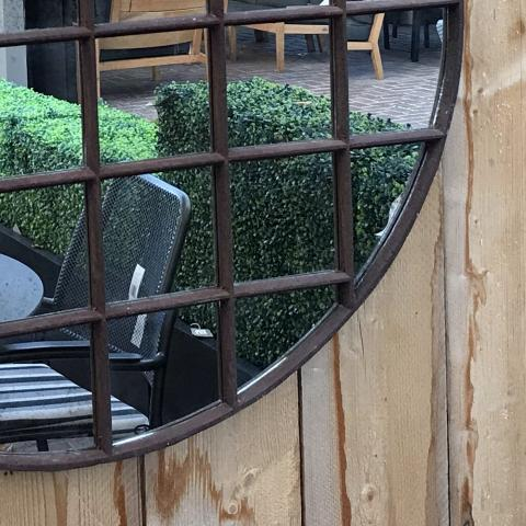 Rustic Circle Mirror from Clifton Nurseries
