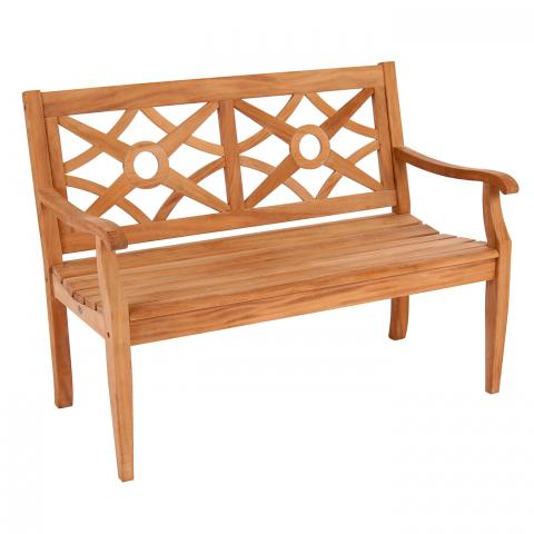 Clifton Nurseries Alexander Rose Mahogany Collection Heritage 4' Bench