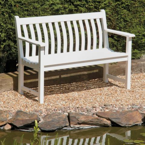 Clifton Nurseries alexander rose new england broadfield bench 4ft