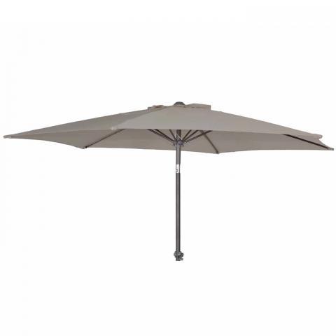 Clifton Nurseries Alexander Rose portofino collection aluminium parasol tilt