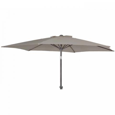 Clifton Nurseries Alexander Rose portofino collection aluminium parasol tilt