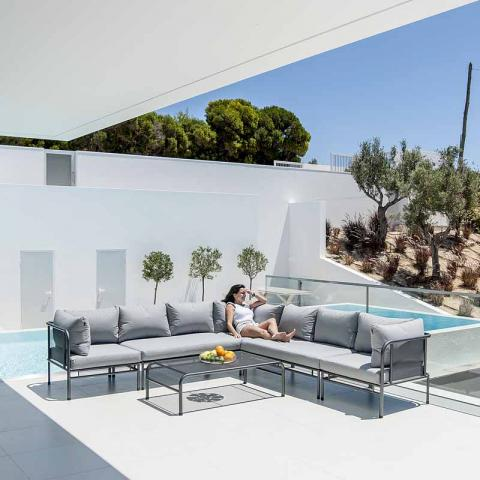 Clifton Nurseries Alexander Rose Portofino Casual Seating Set