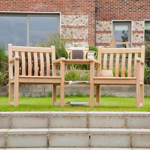 Clifton Nurseries Alexander Rose Roble Collection Companion Seating Garden Furniture