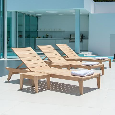 Clifton Nurseries Alexander Rose Roble Collection Adjustable Sunbed