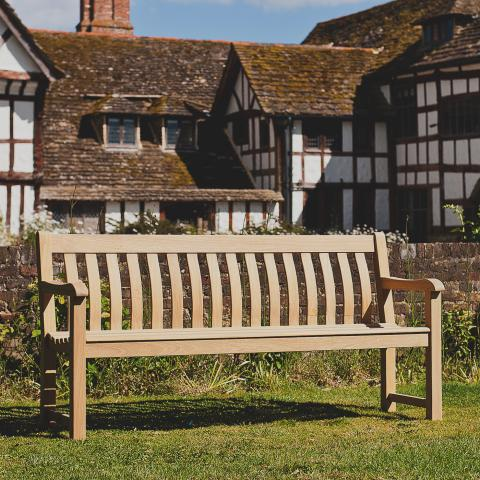 Clifton Nurseries Alexander Rose roble st george bench 6ft