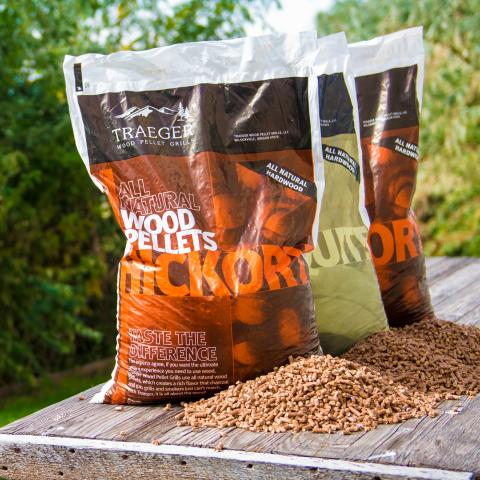 Clifton Nurseries Alfresco Chef traeger FSC Food safe wood pellets bags