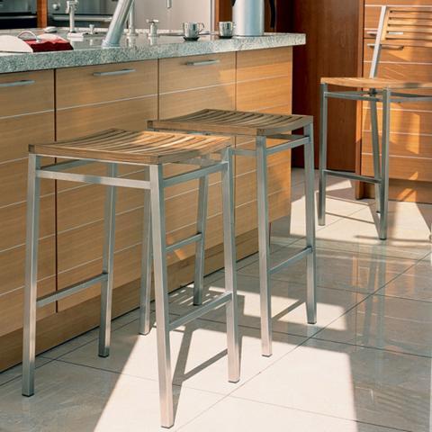clifton nurseries barlow tyrie equinox teak high dining stool for home or garden