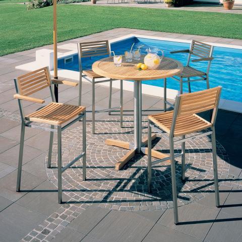 clifton nurseries barlow tyrie high dining carver chair teak for garden or home