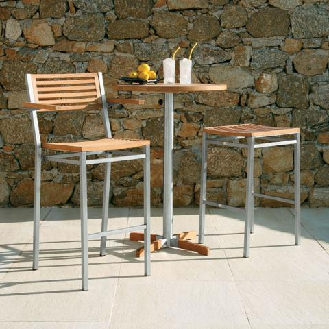 clifton nurseries barlow tyrie equinox high dining table 70 circular for your home or garden
