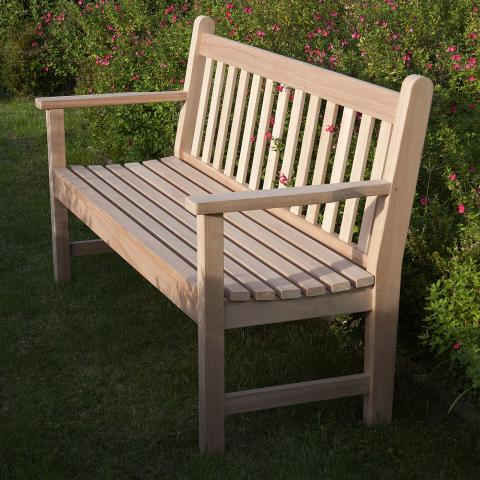 clifton nurseries barlow tyrie lavenham seat 150 eucalyptus bench for your garden or patio