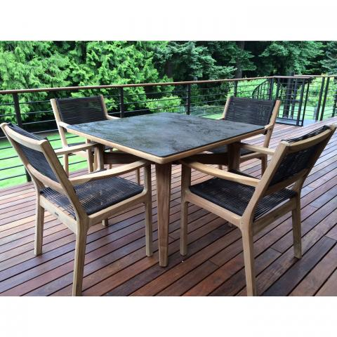clifton nurseries barlow tyrie monterey four seater dining set for your garden or patio