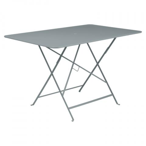 Clifton Nurseries Fermob Bistro Folding Table 117x77cm - Storm Grey