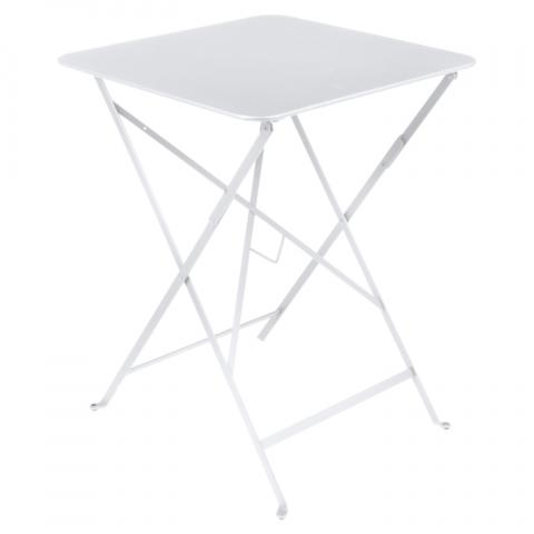 Clifton Nurseries Fermob Bistro Folding Table 57x57cm - Cotton White
