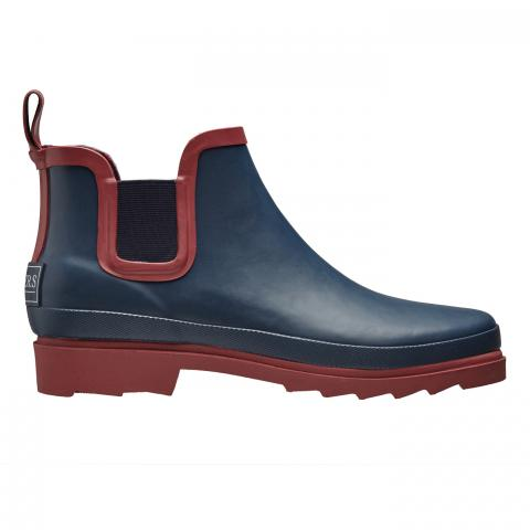 Clifton Nurseries briers chelsea boot navy claret wellington