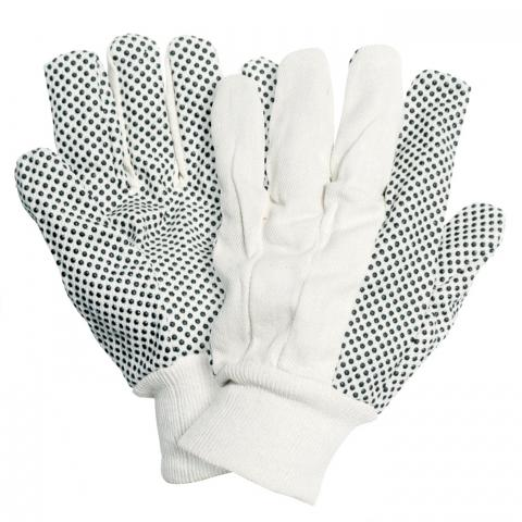 Clifton Nurseries briers gardening grip gloves cotton drill pvc dots