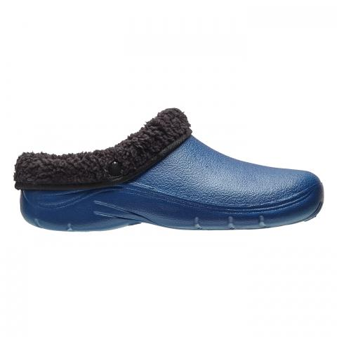 Clifton Nurseries briers fleece lined clog garden navy black