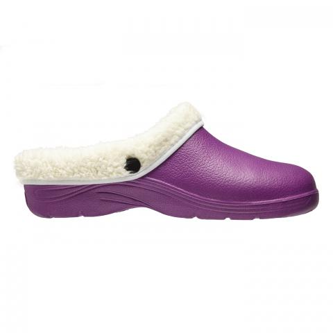 Clifton Nurseries briers removable fleece lined clog garden lilac cream