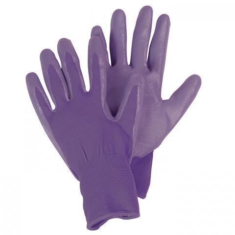 Clifton Nurseries briers gloves seed and weed second skin ladies purple