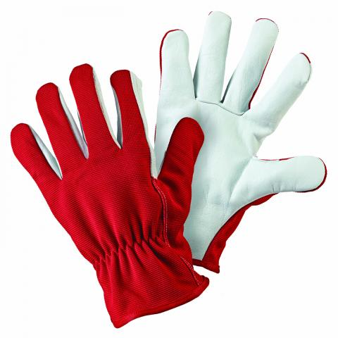 Clifton Nurseries briers gloves cotton lined dual leather hard wearing gardening