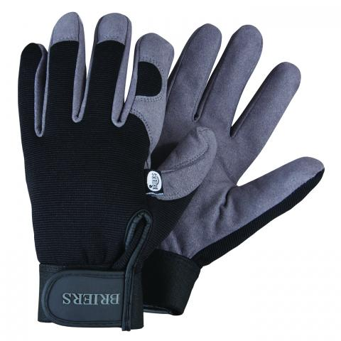Clifton Nurseries Briers glove professional durable mens black grey gloves