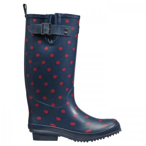 Clifton Nurseries briers sport wellington boot claret navy full length