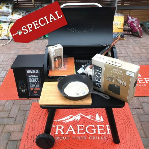 Clifton Nurseries Traeger Bronson and Accessories - Pre-Season Special