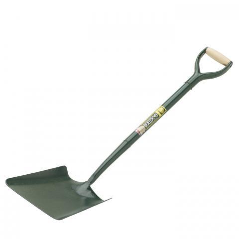 Clifton Nurseries Bulldog Tools Square Mouth Shovel - All Metal Shaft