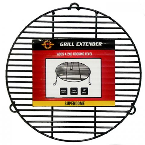 Clifton Nurseries ceramic grill dome grill rack extender 2nd shelf