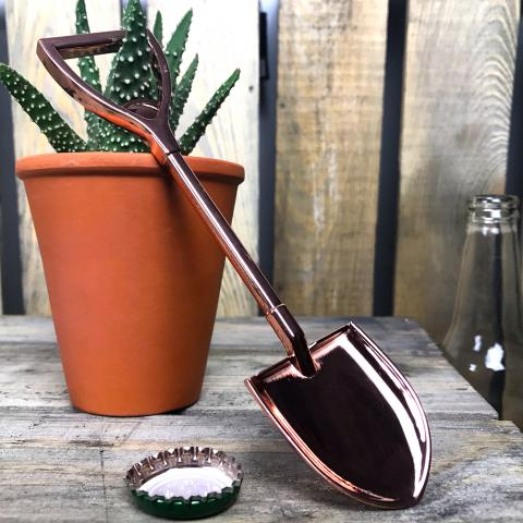 Clifton Nurseries Copper Shovel Bottle Opener