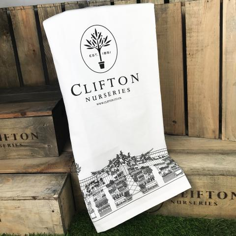 Cotton Tea Towel from Clifton Nurseries