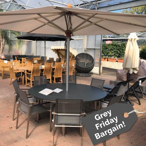 Clifton Nurseries - Equinox Mercury 8 Seater Dining Set