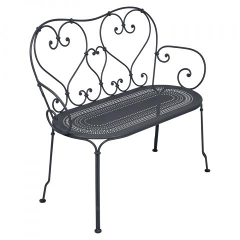 Clifton Nurseries Fermob 1900 Bench - Anthracite