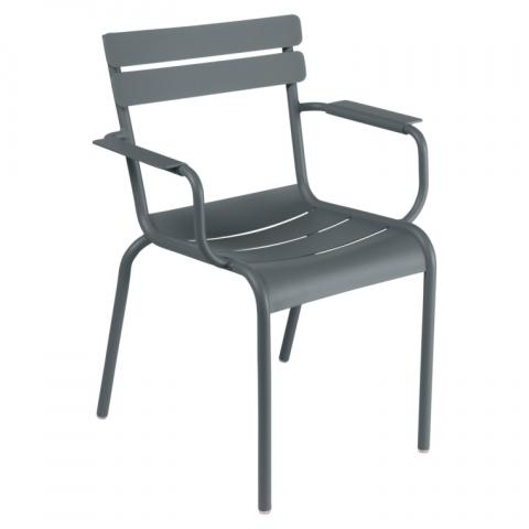 Clifton Nurseries Fermob Luxembourg Armchair - Storm Grey