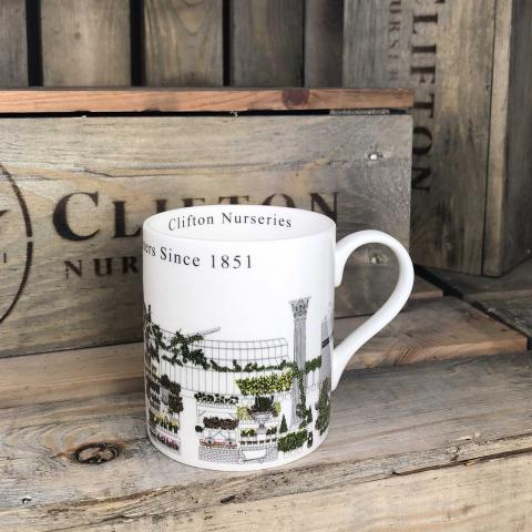 Clifton Nurseries Fine Bone China Mug