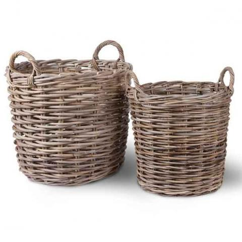 Clifton Nurseries Trading Log Basket Set