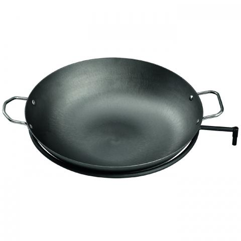 Clifton Nurseries mercatus bbq outdoor fireplace cast iron cooking wok