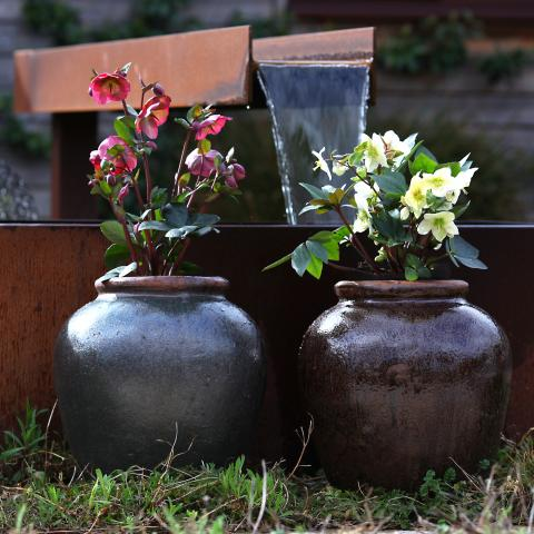clifton nurseries yakuta water jar zhejiang 40cm planter