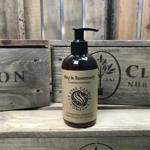 Clifton Nurseries Bay & Rosemary scented hand soap